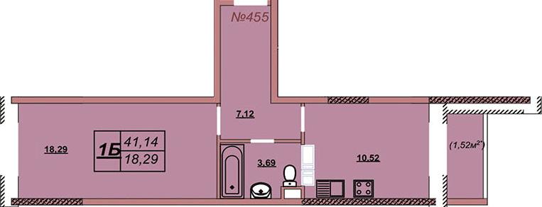 Квартира 455