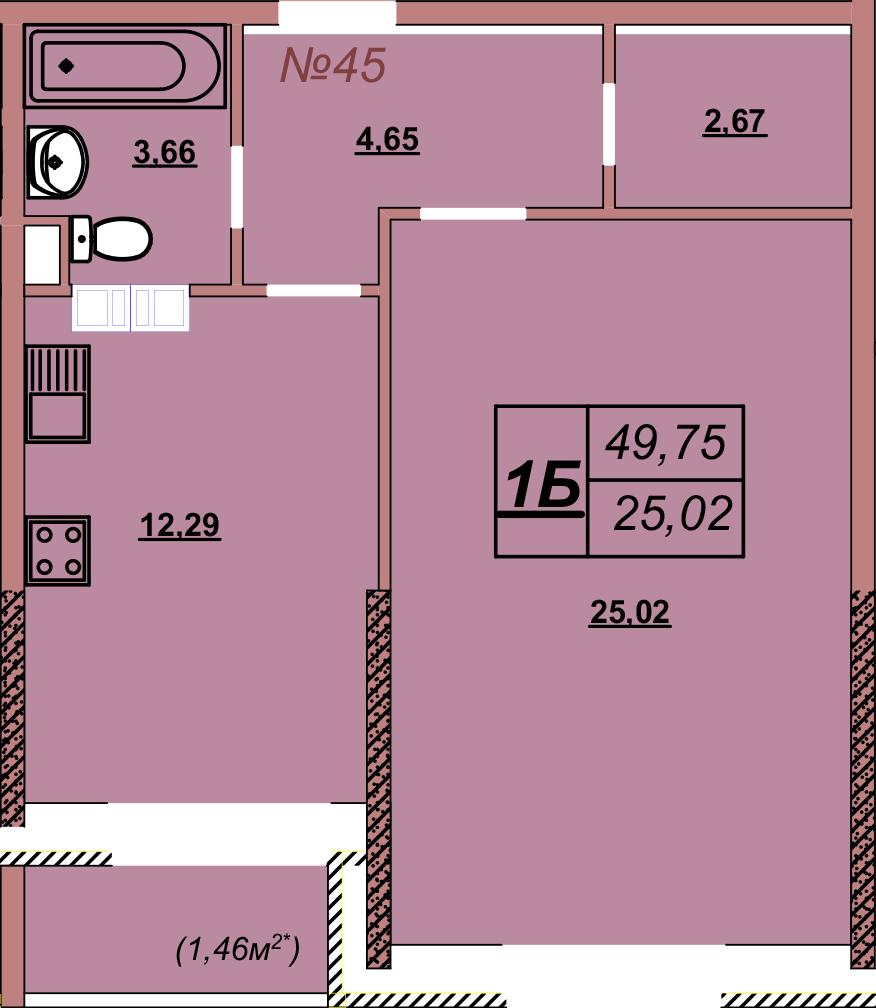 Квартира 45