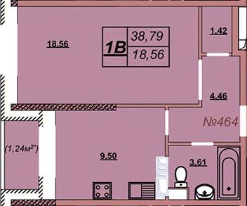 Квартира 464