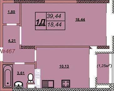 Квартира 467