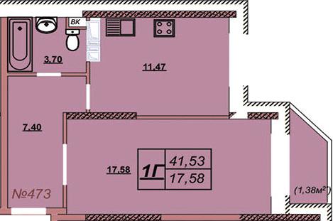 Квартира 473