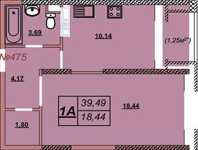 Квартира 475