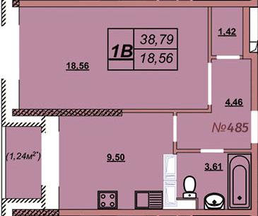 Квартира 485