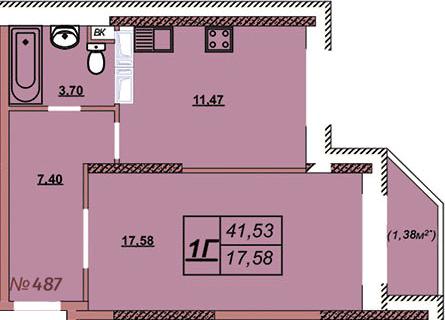 Квартира 487