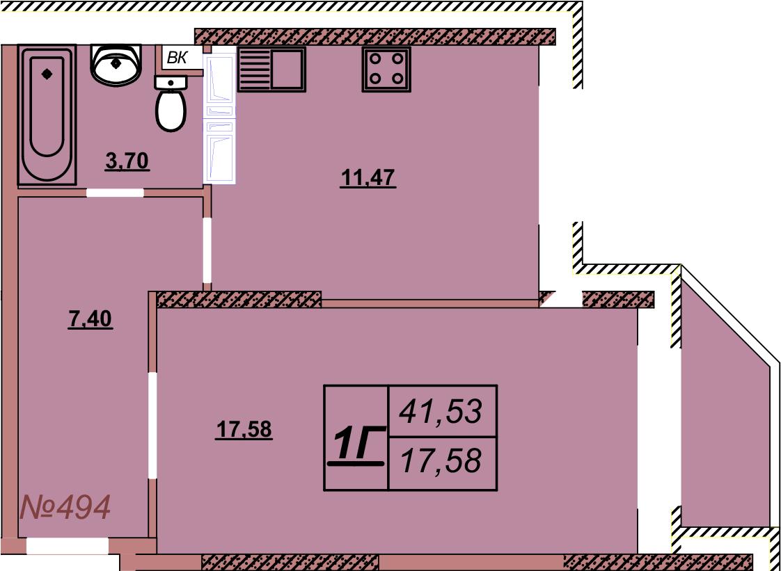 Квартира 494