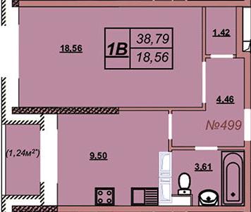 Квартира 499