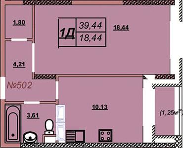 Квартира 502