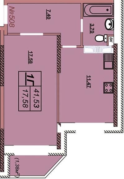 Квартира 508