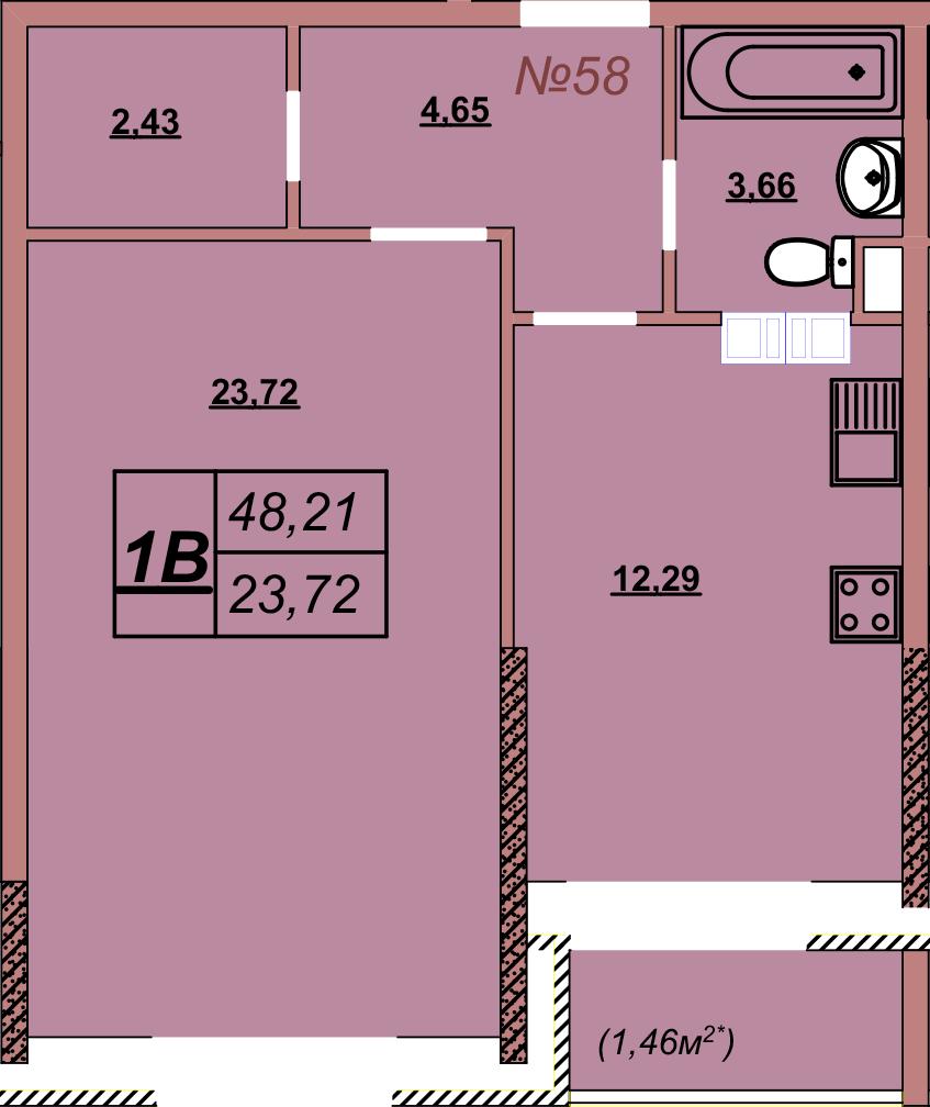 Квартира 58