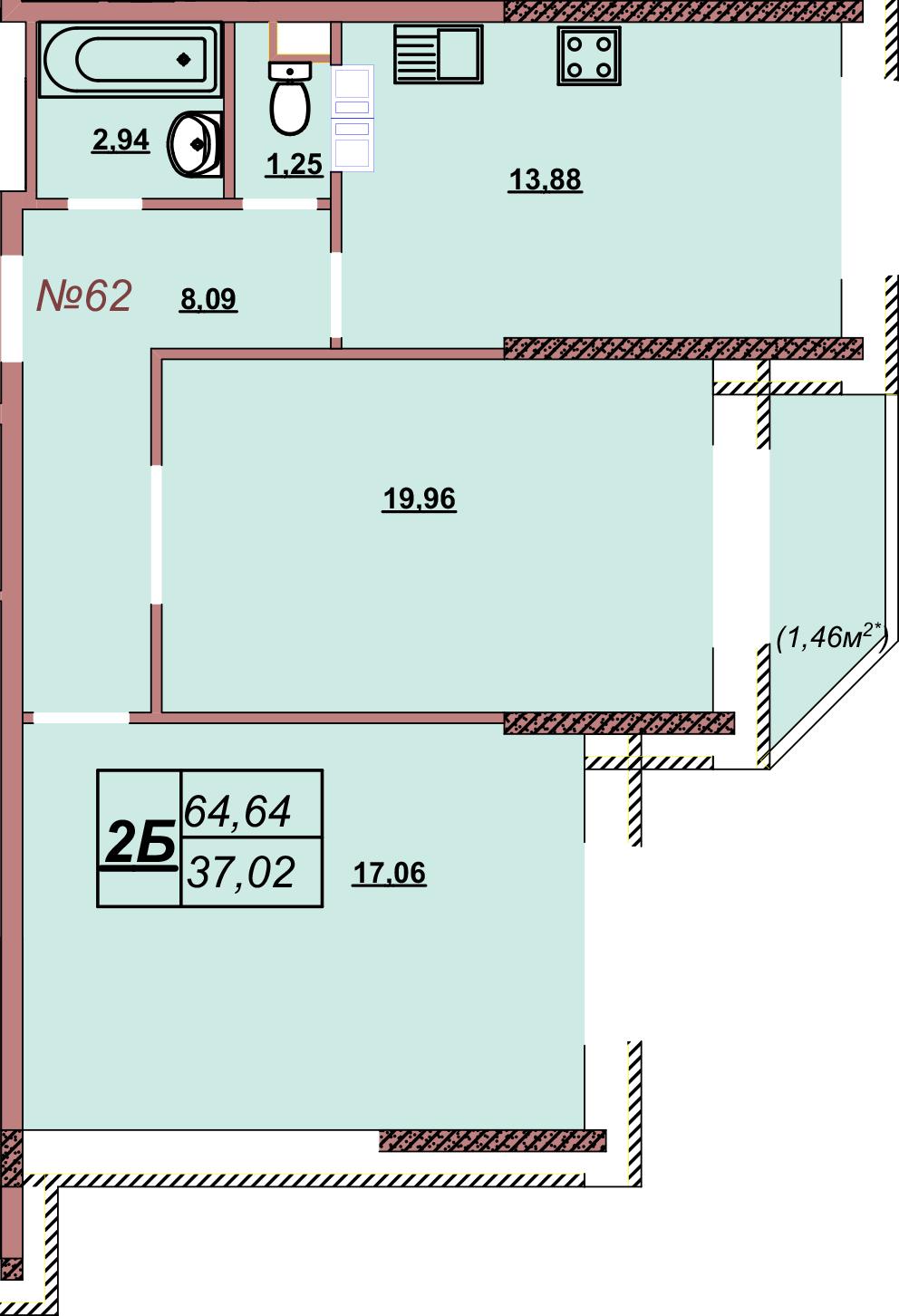 Квартира 62
