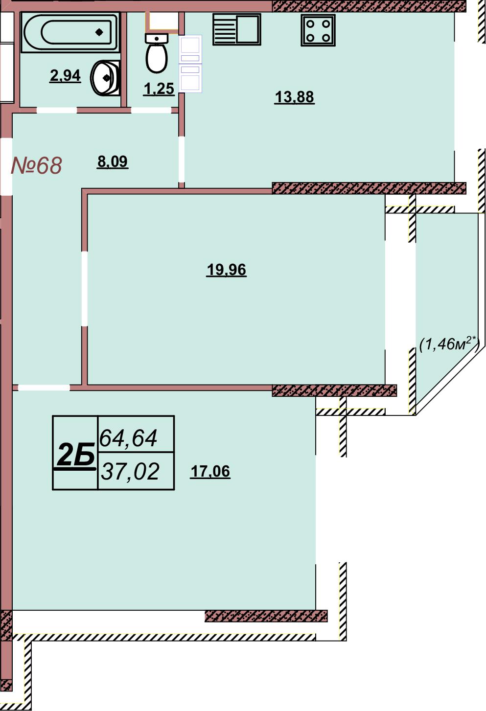 Квартира 68