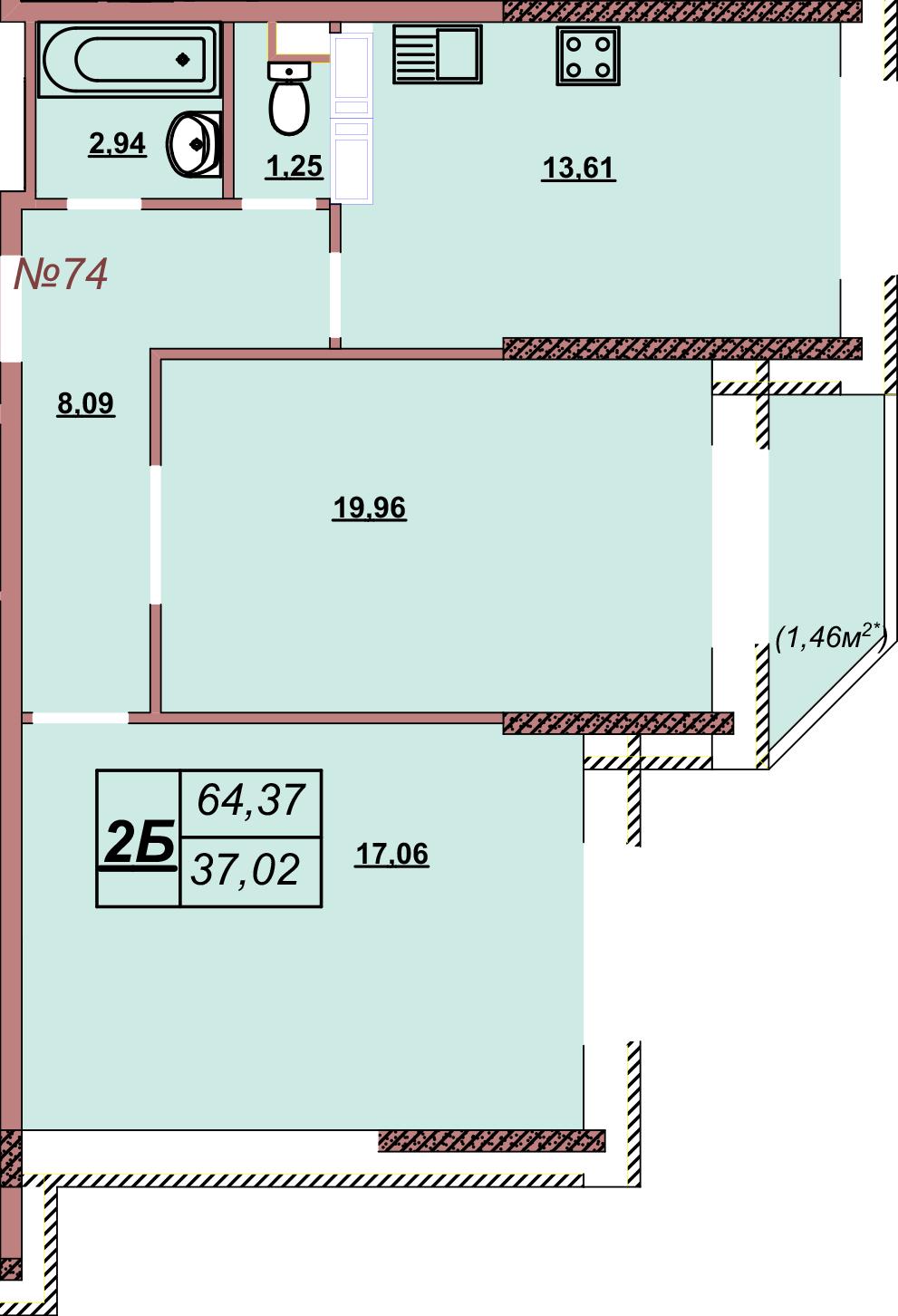 Квартира 74