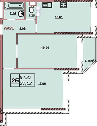Квартира 92
