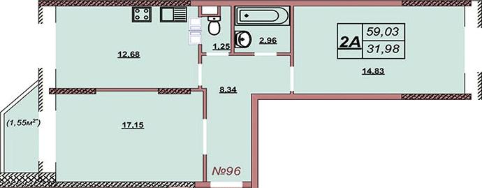 Квартира 96