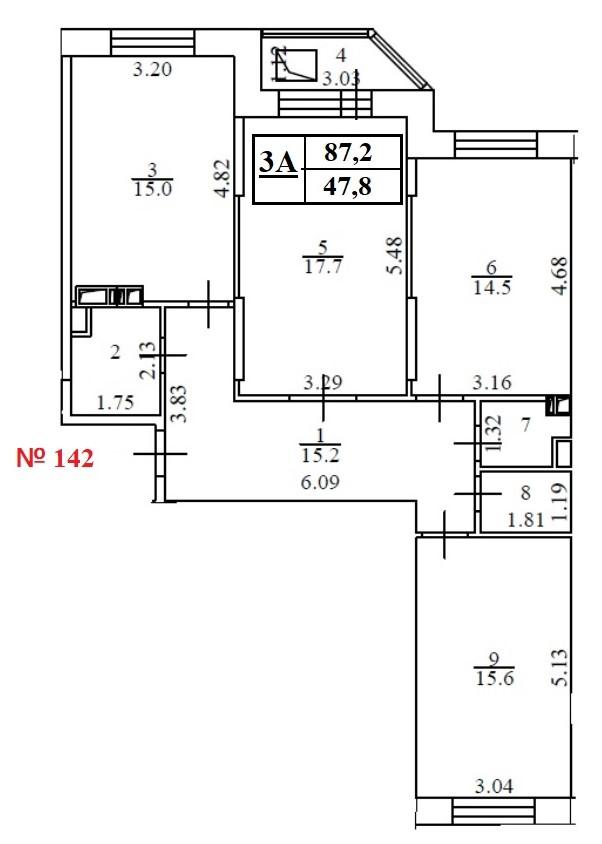 Квартира 142